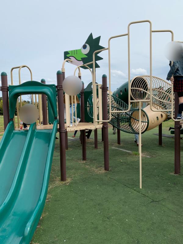 門池公園遊具の画像