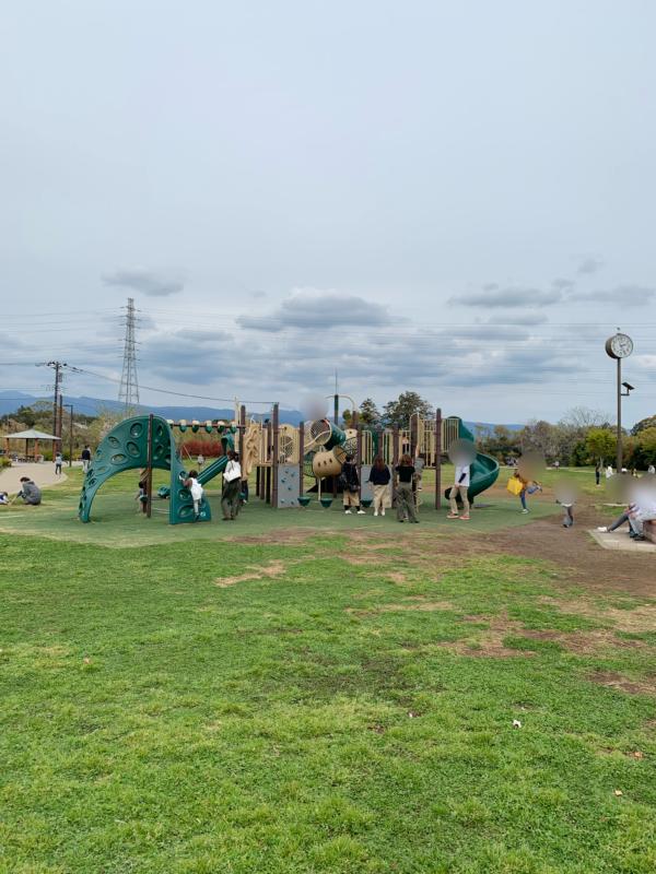 門池公園複合遊具