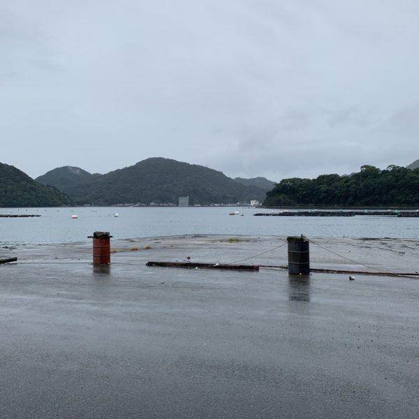 木負漁港の写真